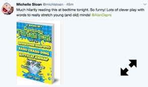 Much hilarity - tweet review of Porridge the Tartan Cat 1-3 ebooks by Michelle Sloan